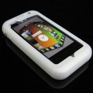 Soft Rubber Silicone Skin Cover Case for LG Arena KM900 - Clear