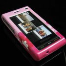 Hard Plastic Design Cover Case for Samsung Memoir T929 - Pink Flowers