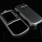 Hard Plastic Design Cover Case for LG Rumor 2 LX265 - Carbon Fiber w/o Belt Clip