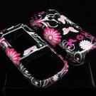 Hard Plastic Design Cover Case for LG Rumor 2 LX265 - Pink Butterfly
