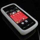 Soft Rubber Silicone Skin Cover Case for Nokia 5800 XpressMusic - Clear