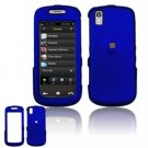 Hard Plastic Rubber Feel Cover Case for Samsung Instinct S30 - Dark Blue