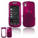 Hard Plastic Smooth Shield Cover Case for Samsung Instinct S30 - Rose Pink