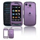 Hard Plastic Rubber Feel Cover Case for Samsung Impression A877 (AT&T) - Purple
