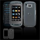 Hard Plastic Smooth Shield Cover Case for Samsung Impression A877 (AT&T) - Clear