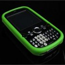 Full View Soft Silicone Skin Case for Palm Treo Pro 850 - Green
