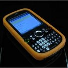 Full View Soft Silicone Skin Case for Palm Treo Pro 850 - Orange