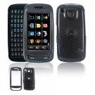 Hard Plastic Design Cover Case for Samsung Impression A877 (AT&T) - Carbon Fiber