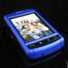 PREMIUM Hard Plastic Shield Cover Case for BlackBerry Storm 9500/9530 - Solid Blue