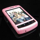 PREMIUM Hard Plastic Shield Cover Case for BlackBerry Storm 9500/9530 - Solid Pink