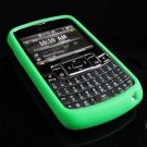 PREMIUM Soft Rubber Silicone Case for Samsung Jack i637 (AT&T) - Green