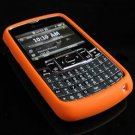 PREMIUM Soft Rubber Silicone Case for Samsung Jack i637 (AT&T) - Orange