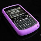PREMIUM Soft Rubber Silicone Case for Samsung Jack i637 (AT&T) - Purple