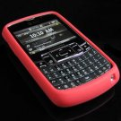 PREMIUM Soft Rubber Silicone Case for Samsung Jack i637 (AT&T) - Red