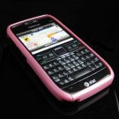 Hard Plastic Robotic Cover Case for Nokia E71 - Pink