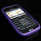 Hard Plastic Robotic Cover Case for Nokia E71 - Purple