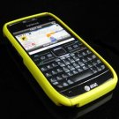 Hard Plastic Robotic Cover Case for Nokia E71 - Yellow