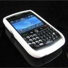 Hard Plastic Robotic Faceplates for Blackberry 8900 - White
