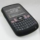 PREMIUM Soft Rubber Silicone Case for Samsung Jack i637 (AT&T) - Black