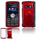 Hard Plastic Glossy Shield Cover Case for LG enV3 VX9200 (Verizon) - Dark Red