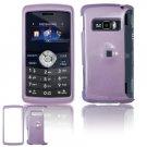 Hard Plastic Glossy Shield Cover Case for LG enV3 VX9200 (Verizon) - Light Purple