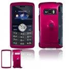 Hard Plastic Glossy Shield Cover Case for LG enV3 VX9200 (Verizon) - Rose Pink