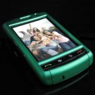 PREMIUM Hard Plastic Shield Cover Case for BlackBerry Storm 9500/9530 - Solid Green