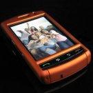 PREMIUM Hard Plastic Shield Cover Case for BlackBerry Storm 9500/9530 - Solid Orange