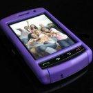 PREMIUM Hard Plastic Shield Cover Case for BlackBerry Storm 9500/9530 - Solid Purple
