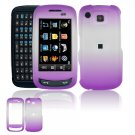 Hard Plastic Frost Cover Case for Samsung Impression A877 (AT&T) - Purple