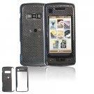 Hard Plastic Design Cover Case for LG enV Touch VX11000 (Verizon) - Carbon Fiber