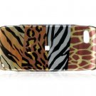 Hard Plastic Design Cover Case for Sidekick LX 2009 - Wild Safari