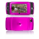 Hard Plastic Glossy Protector Cover Case for Sidekick LX 2009 - Hot Pink