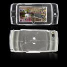 Hard Plastic Protector Cover Case for Sidekick LX 2009 - Clear