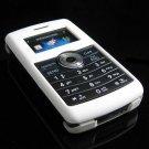 Hard Plastic Rubber Feel Cover Case for LG enV3 VX9200 (Verizon) - White