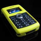 Hard Plastic Rubber Feel Cover Case for LG enV3 VX9200 (Verizon) - Yellow