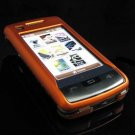 Hard Plastic Rubber Feel Case for LG enV Touch VX11000 (Verizon) - Orange