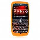 Soft Rubber Silicone Skin Cover Case for HTC Dash 3G (T-Mobile) - Orange