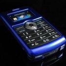 Hard Plastic Glossy Rim Cover Case for LG enV3 VX9200 (Verizon) - Blue