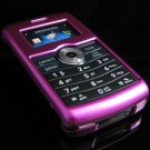 Hard Plastic Glossy Rim Cover Case for LG enV3 VX9200 (Verizon) - Hot Pink