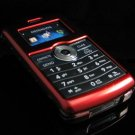 Hard Plastic Glossy Rim Cover Case for LG enV3 VX9200 (Verizon) - Red