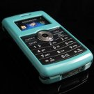 Hard Plastic Glossy Rim Cover Case for LG enV3 VX9200 (Verizon) - Turquoise