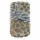 Hard Plastic Bling Design Cover Case for BlackBerry Tour 9600/9630 - Mix Animal