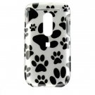 Hard Plastic Design Cover Case for HTC Dash 3G - White Dog Paw
