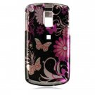 Hard Plastic Design Cover Case for Samsung Jack i637 (AT&T) - Pink Butterfly