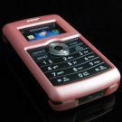 Hard Plastic Rubber Feel Rim Cover Case for LG enV3 VX9200 (Verizon) - Baby Pink