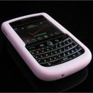 Soft Rubber Silicone Skin Cover Case for BlackBerry Tour 9600/9630 - Baby Pink