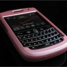 Hard Plastic Rubber Feel Cover Case for BlackBerry Tour 9600/9630 - Baby Pink