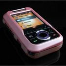 Hard Plastic Rubber Feel Cover Case for Motorola Rival A455 (Verizon) - Baby Pink