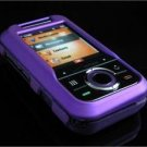 Hard Plastic Rubber Feel Cover Case for Motorola Rival A455 (Verizon) - Purple